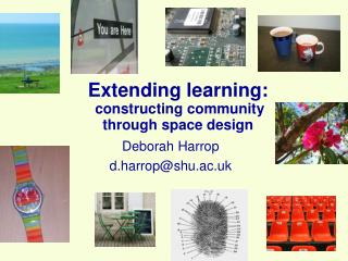 Extending learning: constructing community  through space design