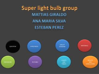 Super light bulb group