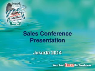 Sales Conference Presentation