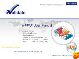 E-PPAP User_Manual