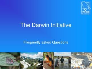 The Darwin Initiative