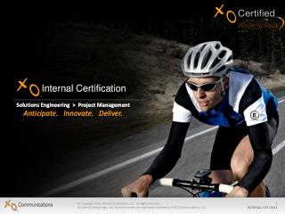 Internal Certification