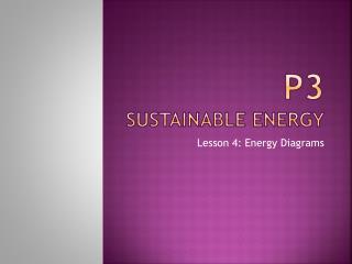 P3 Sustainable Energy
