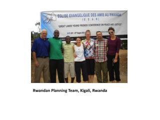 Rwandan Planning Team, Kigali, Rwanda