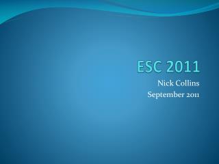 ESC 2011