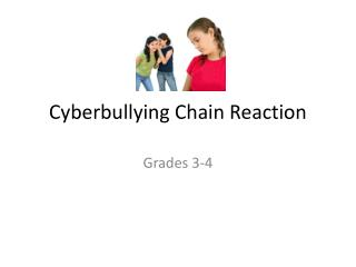 Cyberbullying  Chain Reaction