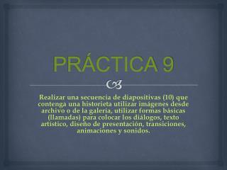 PRÁCTICA 9