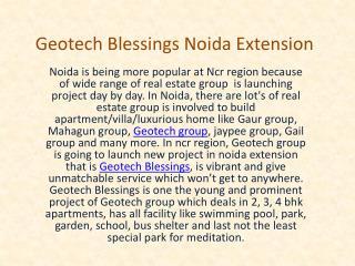 Apartment at Noida Extension