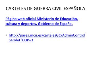 CARTELES DE GUERRA CIVIL ESPAÑOLA