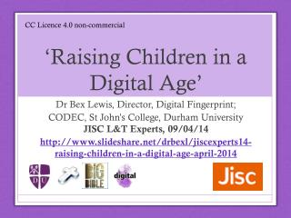 'Raising Children in a Digital Age'