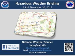 Hazardous Weather Briefing