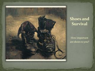 Shoes and Survival
