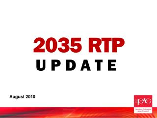 2035 RTP  UPDATE