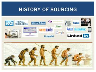 History of sourcing