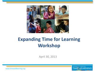 Expanding Time for Learning Workshop