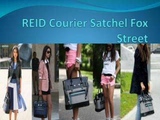 REID Courier Satchel Fox Street