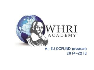An EU COFUND program 2014-2018