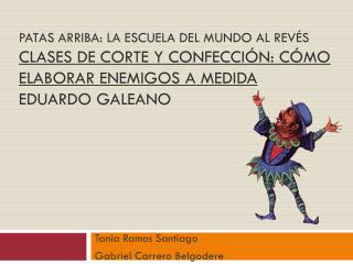 Tania Ramos Santiago Gabriel Carrero  Belgodere
