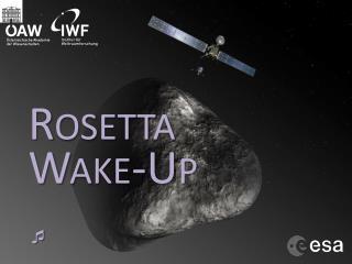 Rosetta Wake-Up