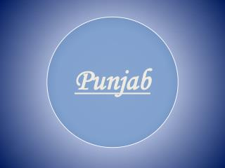 little bit about Punjab.........