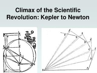 Climax of the Scientific Revolution:  Kepler  to Newton