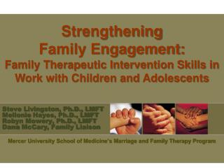 Mercer University School of Medicine's Marriage and Family Therapy Program