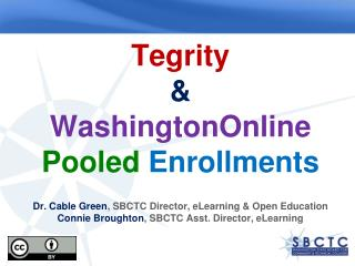 Tegrity Demo Recording Reviewing  (web, mobile, podcast) Strategic Technology Plan