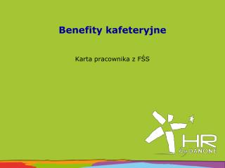 Benefity  kafeteryjne