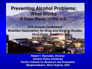Alcohol Education: What works