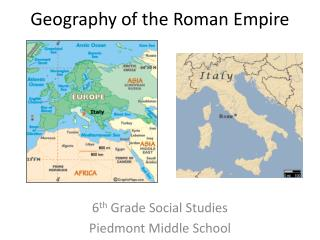 Geography of the Roman Empire