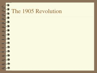 The 1905 Revolution