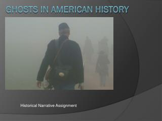 Ghosts in American History