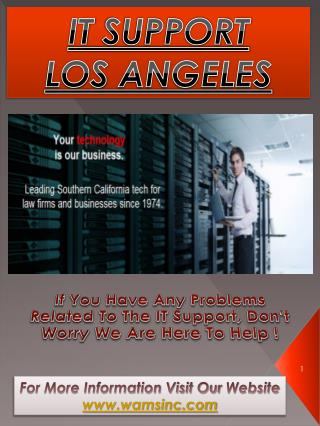 IT Company Los Angeles