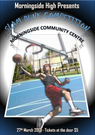 Slam Dunk  Competition Morningside Community Centre