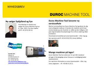 Ny sælger  Sydjylland  og Fyn