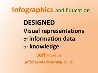 Infographics and Education