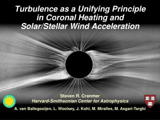 Turbulence as a Unifying Principle in Coronal Heating and Solar/Stellar Wind Acceleration