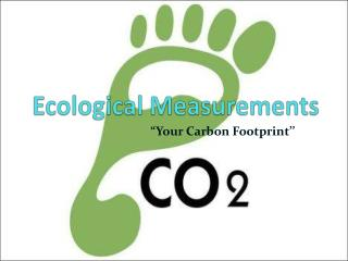 Ecological Measurements