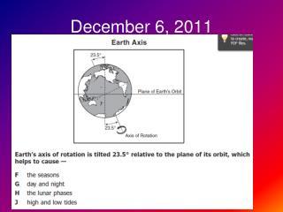December 6, 2011