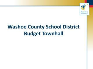 Washoe County School District Budget Townhall