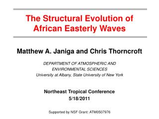 The Structural Evolution of African Easterly Waves