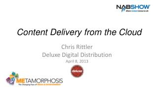 Content Delivery from the Cloud