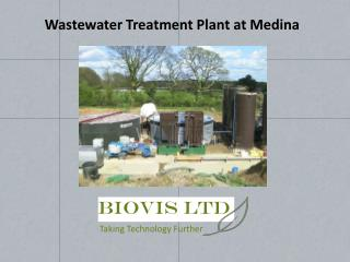 Wastewater Treatment Plant at Medina