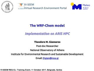 WRF Modeling System  Short  Tutorial