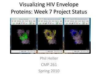 Visualizing HIV Envelope Proteins: Week 7 Project Status