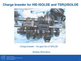 Charge breeder for HIE-ISOLDE and TSR@ISOLDE