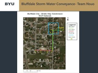 Bluffdale  Storm Water Conveyance- Team  Nsuo