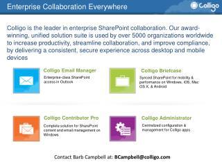 Enterprise Collaboration Everywhere