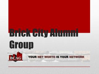 Brick City Alumni Group