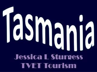 Jessica L  Sturgess TVET Tourism